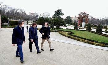 Madrid recupera un Retiro diezmado por Filomena