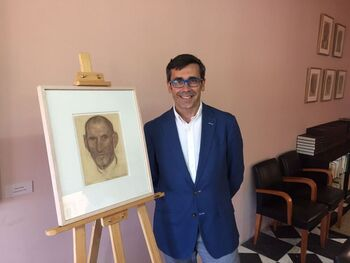 Toledo recupera un dibujo de Victorio Macho