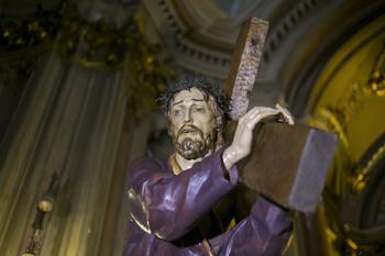 Jesús del Puente comienza un nuevo acto de oración mensual