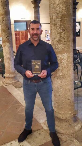 Ángel Jiménez, premiado en la Gala Regional de Karate