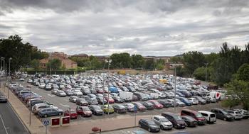 Hermoso cuestiona la supervivencia del parking de Valbuena