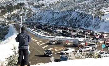 ¿Los madrileños pueden esquiar en Navacerrada?