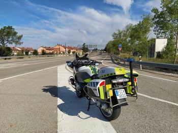 'Cazado' a 200 por hora en Villar del Campo