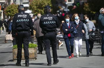 La Policía interviene en seis botellones este fin de semana