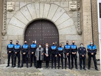 La Policía Local de Segovia incorpora ocho nuevos agentes