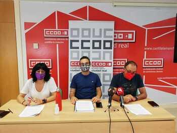 CCOO denuncia que el curso empieza con 200 docentes menos