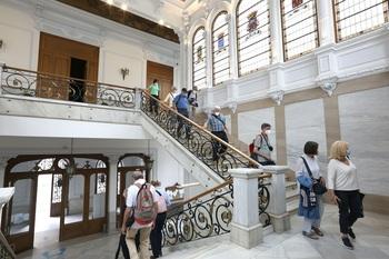 Visitas guiadas por el palacio provincial