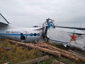 Dieciséis muertos en un accidente de avión en Rusia