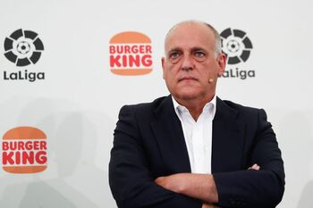 Tebas: 'El Real Madrid no hace trampas'