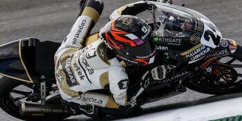 Ortolá en Moto3 y López en Moto2, 'poles' en Jerez