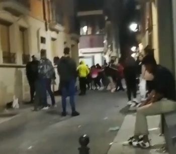 Investigan una pelea en Aranda citando a 8 testigos