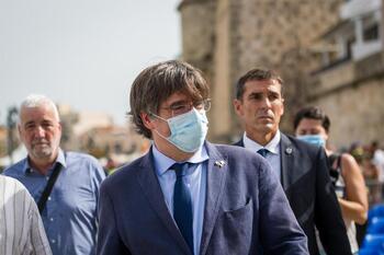 Puigdemont reaparece tras su detención