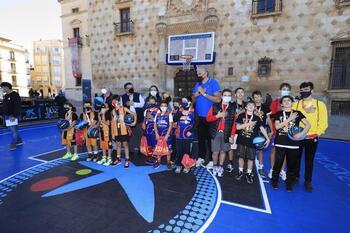 Guadalajara disfrutó del Plaza 3x3 CaixaBank 2021 de basket