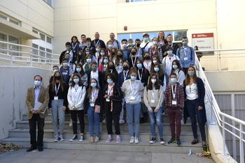 Preuniversitarios del Erasmus+ conocen la UCLM