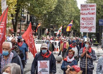 Los pensionistas rechazan la reforma y anuncian movilizaciones