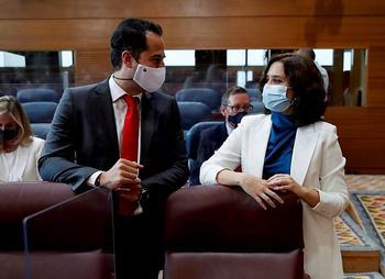 Isabel Díaz Ayuso e Ignacio Aguado han protagonizado numerosos desencuentros a lo largo de los últimos meses.