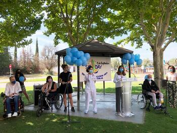 Parapléjicos y Aspaym celebran el Día de la Lesión de Médula