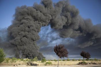Apoyo a los técnicos procesados por el fuego de Chiloeches