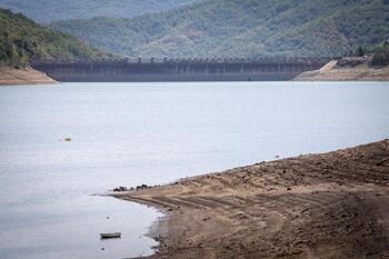 Arranca un año hidrológico con lluvia y menos agua embalsada