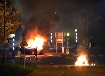 Disturbios en Irlanda del Norte por el futuro post-Brexit