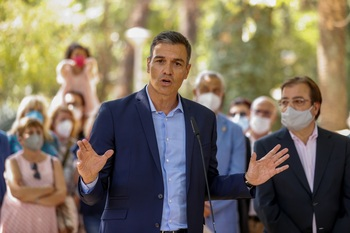 Pedro Sánchez: «El AVE a Extremadura será realidad en 2022»