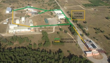 Licitan una central de calor de biomasa para el CEDER