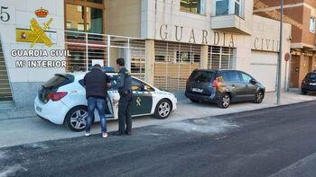 Detienen a dos personas por tráfico de drogas en Sigüenza