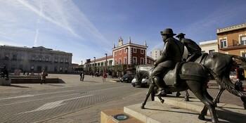 Arrancan las obras de remodelación de la plaza de España