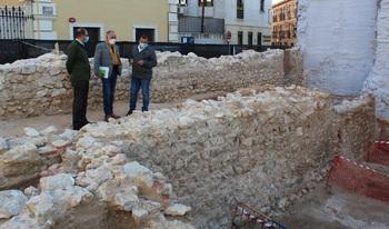 Los restos del solar de los Solano no son muralla medieval