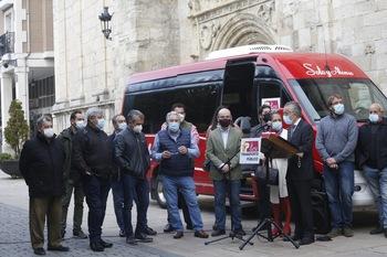 El bono gratis del transporte a la demanda llega a Briviesca