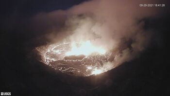 El volcán hawaiano de Kilauea entra en erupción