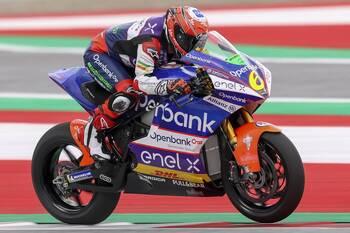 Herrera culmina el Mundial de MotoE en San Marino