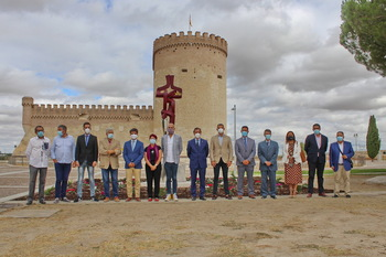 Recuerdo permanente de Juan Velázquez de Cuéllar
