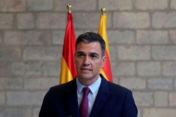 Sánchez: 'Hemos acordado dialogar sin pausas, pero sin plazos'