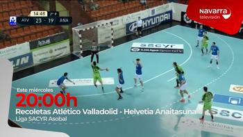 Valladolid- Anaitasuna, en directo, en Navarra TV