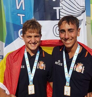 Iván Romero cerró el Europeo por Naciones con seis medallas