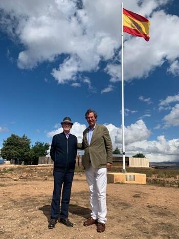 El presidente de ADIPROPE visita Numancia