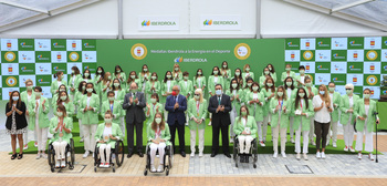 Iberdrola renueva su apoyo a las olímpicas