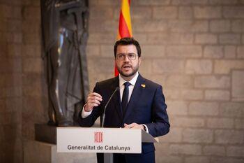 Aragonès pide 'tiempo' en defensa de la amnistía