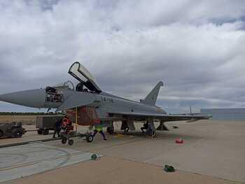 Maestranza entrega un Eurofighter al Ala 14 tras su revisión