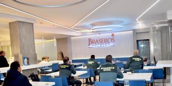 Premio a Los Braseros al alojar personal esencial y enfermos