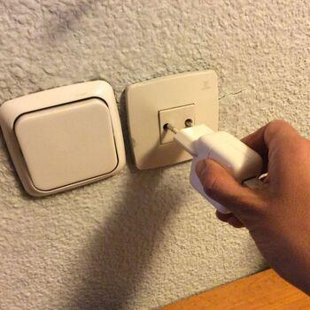 Un corte de luz afecta unos minutos a miles de usuarios