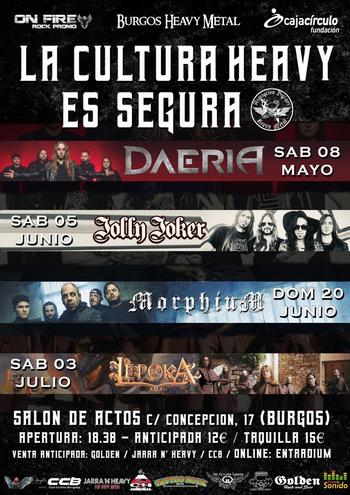 Burgos acoge el ciclo 'La Cultura Heavy es Segura'