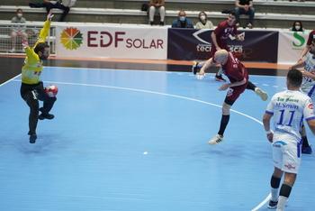Diego Camino, en un partido de esta temporada.