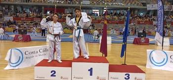 El vallisoletano Rudy Campos, campeón nacional de Taekwondo