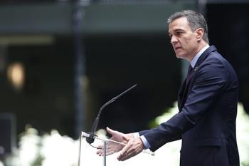 Sánchez agradece a las Fuerzas Armadas su compromiso