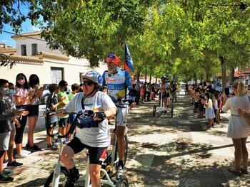 Tobarra acoge una etapa del 'Discamino' de Santiago