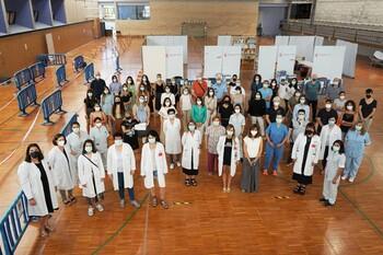El vacunódromo de Jesuitas en Tudela cierra sus puertas