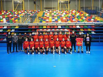 Selección española júnior.
