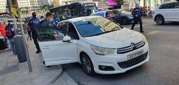 Hallado en la Gran Vía de Madrid un coche robado en Talavera